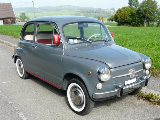FIAT 600 / 500 ancienne etat collection