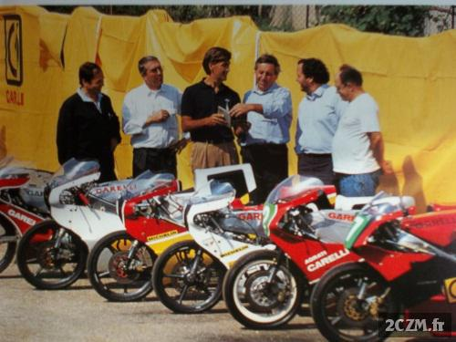 GARELLI 125 USINE 1990 Alan SCOTT GP